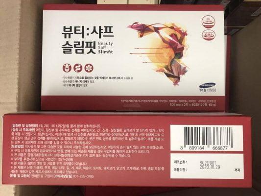 viên uống giảm cân beauty saff slimfit