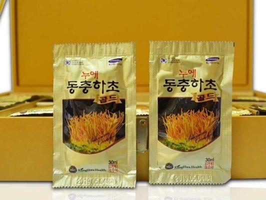Nước đông trùng hạ thảo Kanghwan Bio Silkworm Cordyceps
