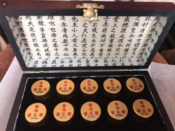 Tiên đan hoàng đế hàn quốc cong jin dan