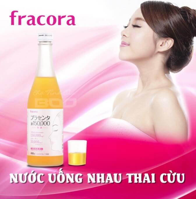 Fracora Placenta Drink 150.000mg Nước Uống Làm Đẹp Da Nhau Thai Cừu Nhật Bản