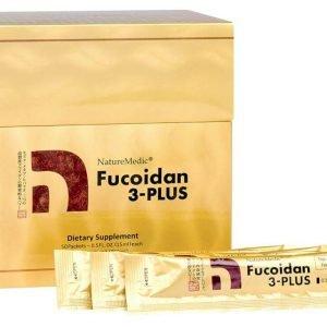 Fucoidan 3-Plus NatureMedic, Hỗ Trợ Điều Trị Ung Thư Dạng Nước