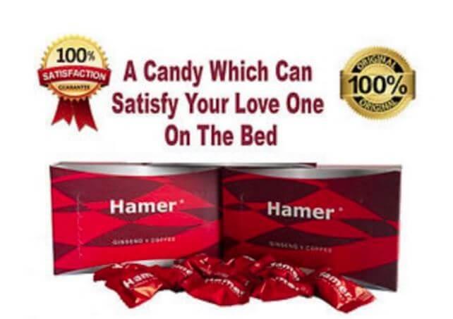 "Hamer Ginseng & Coffee - Kẹo Sâm Hamer ""Sino-USA Collaboration"" Hộp 30 Viên"