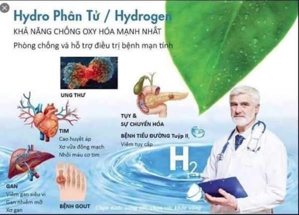 nước hydro izumio