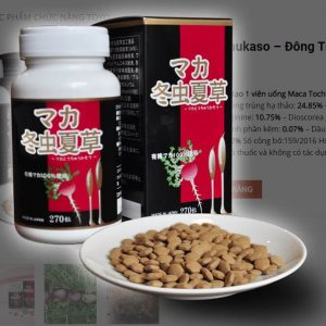 Maca Tochukaso viên uống đông trùng hạ thảo Nhật Bản 270 viên