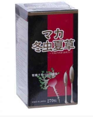 Maca Tochukaso viên uống đông trùng hạ thảo nhật bản
