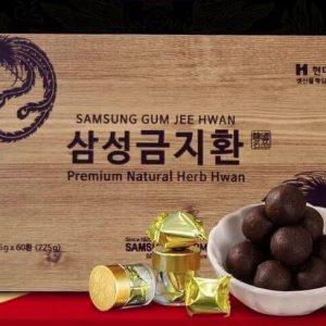 An Cung Ngưu Gum Jee Hwan Samsung Hàn Quốc Hộp 60 viên