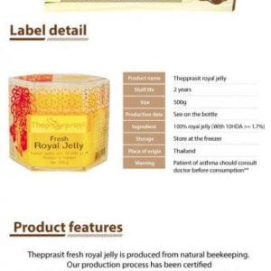 Sữa Ong Chúa Tươi Fresh Royal Jelly Thailand 500g