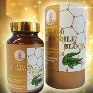 kwanthai crocodile blood