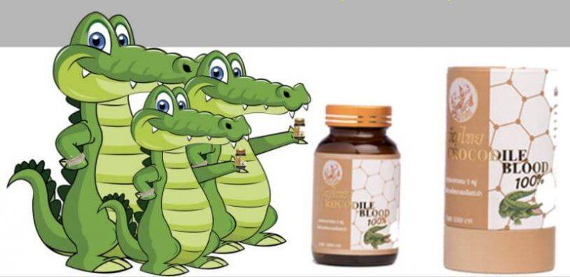 kwanthai crocodile blood