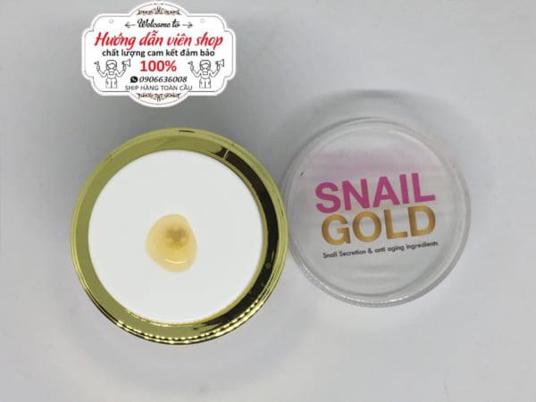 review kem ốc sên vàng thái lan